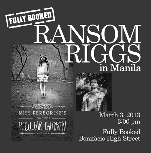 Ransom Riggs ONLINE small