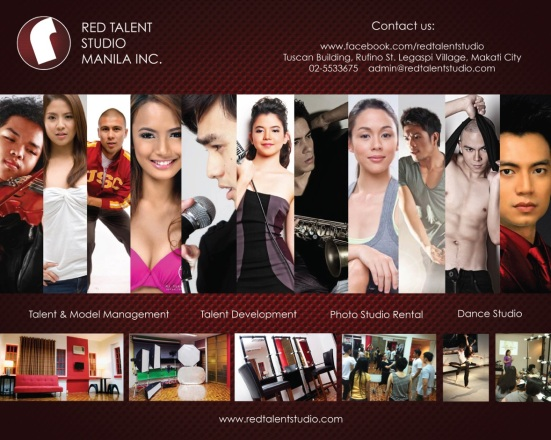 RED Agency Setcard 2012
