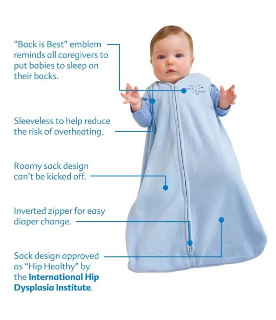 Halo SleepSack Wearable Blanket Features