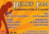 Events Bulletin: ReliefJam