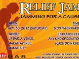 Events Bulletin: Relief Jam