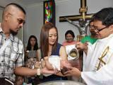 Sinag's Baptism